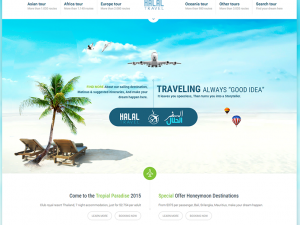 Halal-travl-website-home-page