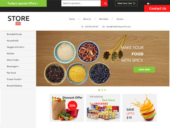 Media-House-Web-E-commerce-Template